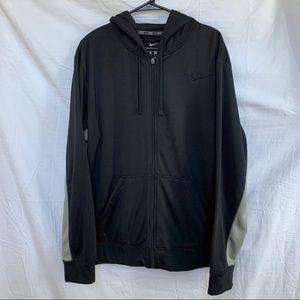 Nike Therma Fit Full Zip Hoodie jacket men Size L